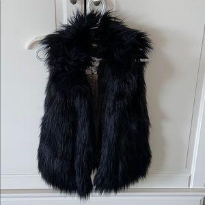 NEW fur vest with collar!